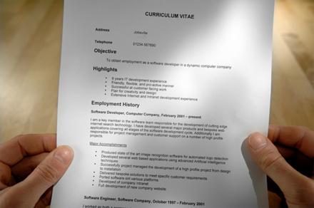 CV-ul care ne evidentiaza